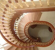 Modern design patterns of Spiral stair & wood spiral staircase by mahadevwood