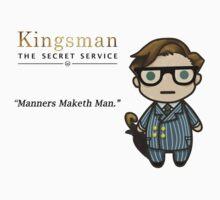 Manners Maketh Man - Harry Hart One Piece - Short Sleeve