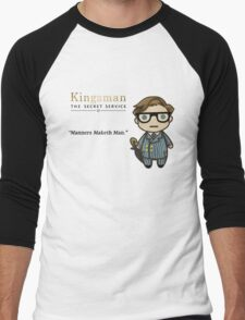 Manners Maketh Man - Harry Hart Men's Baseball ¾ T-Shirt