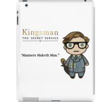 Manners Maketh Man - Harry Hart iPad Case/Skin