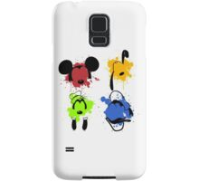 Mickey and Friends Splash Samsung Galaxy Case/Skin