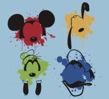 Mickey and Friends Splash Kids Tee