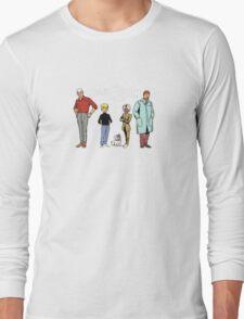 Johnny Jonny Quest Full Team Cartoon Long Sleeve T-Shirt