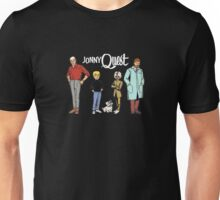 Johnny Jonny Quest Full Team Cartoon Unisex T-Shirt