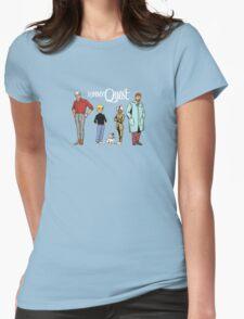 Johnny Jonny Quest Full Team Cartoon Womens Fitted T-Shirt