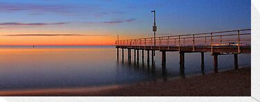 Esplanade Jetty - Rockingham Western Australia  by EOS20