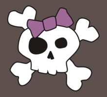 Cute Girly Skull Kids Clothes