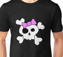 Cute Girly Skull Unisex T-Shirt