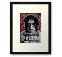 Sirius Black in Azkaban  Framed Print
