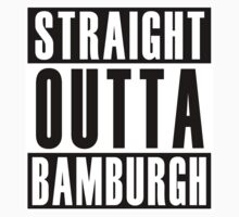 Straight Out Bamburgh Baby Tee
