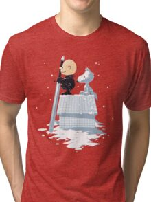 WINTER PEANUTS Tri-blend T-Shirt