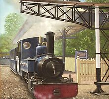 exbury gardens narrow gauge steam locomotive by martyee