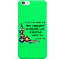 Lord keep your arm geek funny nerd iPhone Case/Skin