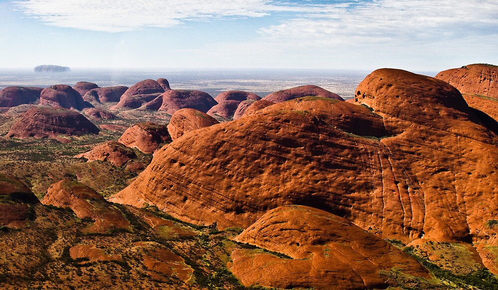 Kata Tjuta to Uluru by JourneyPhotos