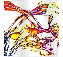 Abstract Color Poster
