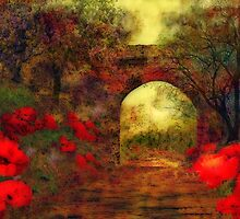 Ye olde railway bridge'... by Valerie Anne Kelly