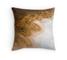 Lake Amadeus Shoreline Throw Pillow