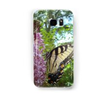 Tiger Swallowtail on Clerodendrom Samsung Galaxy Case/Skin
