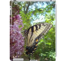Tiger Swallowtail on Clerodendrom iPad Case/Skin