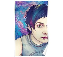 galaxy michael Poster
