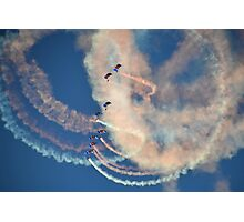 Raf Falcons Air Display Photographic Print