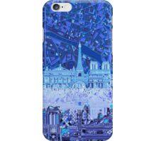 Paris skyline abstract iPhone Case/Skin