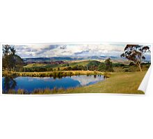 Jenolan Caves Road - Eastern View Poster