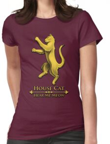 House Cat Womens Fitted T-Shirt