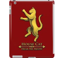 House Cat iPad Case/Skin