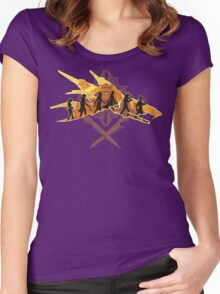 THE TWO SWORDS Women's Fitted Scoop T-Shirt