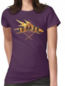 THE TWO SWORDS Womens Fitted T-Shirt