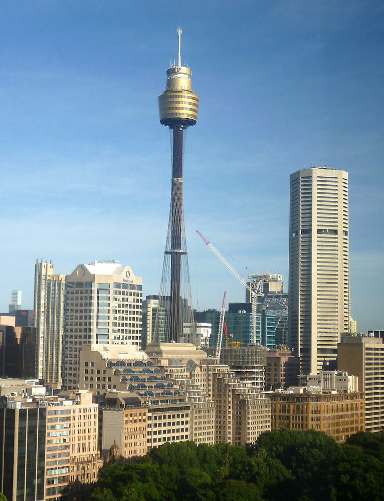 Quot Centrepoint Tower And Sydney Cityscape Quot By Tonycrehan