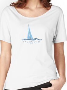 Falmouth - Cape Cod. Women's Relaxed Fit T-Shirt