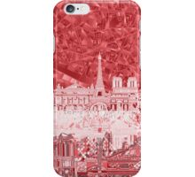 paris skyline abstract 2 iPhone Case/Skin