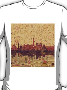 paris skyline abstract 3 T-Shirt