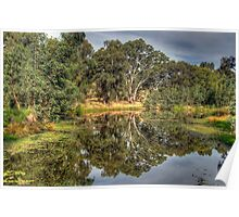 And His Ghost May Be Heard - Wonga Wetlands, Albury NSW - The HDR Experience Poster