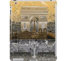paris skyline abstract 4 iPad Case/Skin