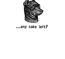 Any Cake Left? by Beesty