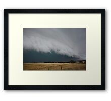 Severe storm near Crystal Brook Framed Print