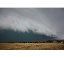 Severe storm near Crystal Brook Photographic Print