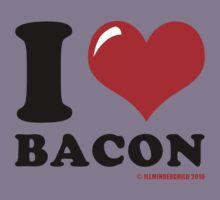 I (heart) Bacon Kids Clothes