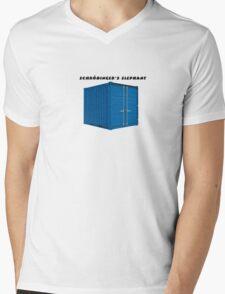 Schrödinger's Elephant Mens V-Neck T-Shirt