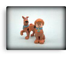Scooby & Shaggy Doo  Canvas Print