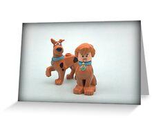 Scooby & Shaggy Doo  Greeting Card