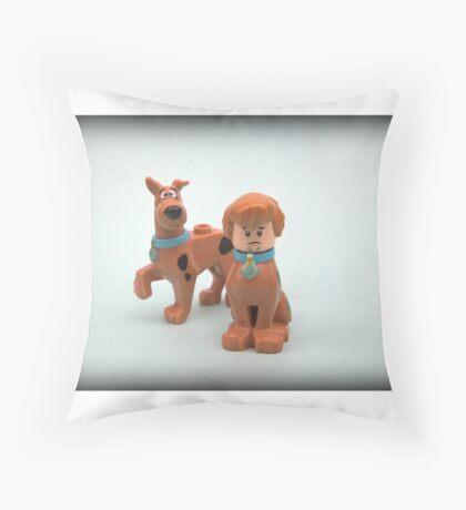 Scooby & Shaggy Doo  Throw Pillow