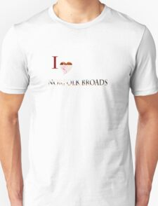 Broadland walk'... T-Shirt