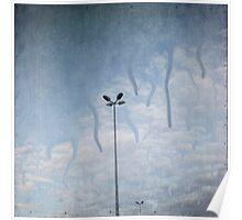 melting sky ~ Acid Rain Poster