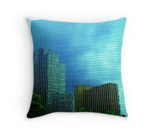 Mirrors in the Sky Throw Pillow