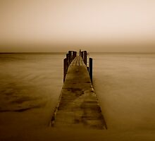 Quindalup Jetty Western Australia by Emma  Spencer