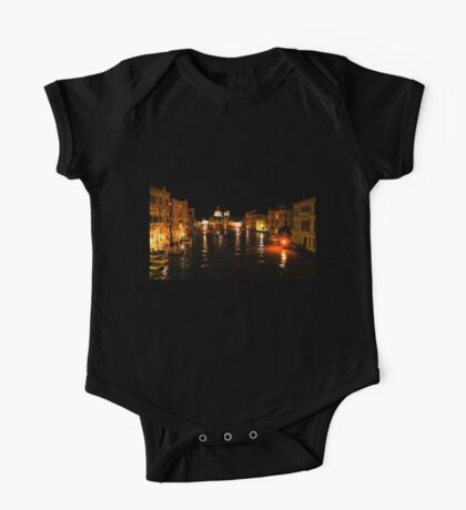 Impressions Of Venice - Grand Canal Gold One Piece - Short Sleeve